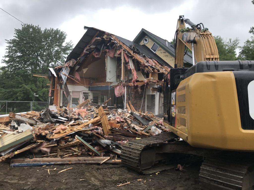 Building Demolition (Malt Shop)