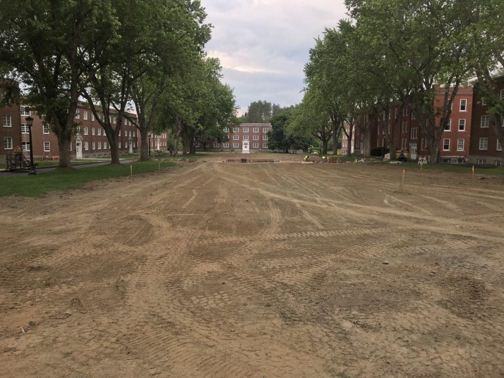 Norwich University Upper Parade Ground Beautification Project (in progress)