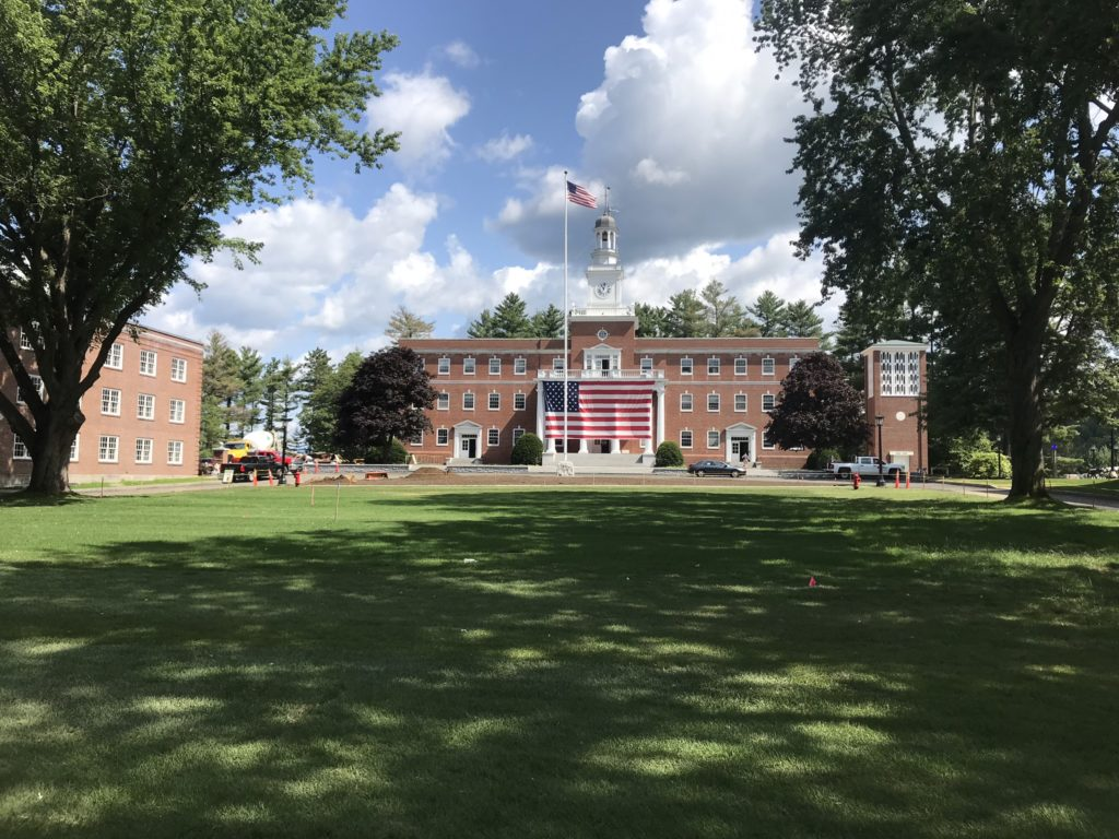 Norwich University Upper Parade Ground Beautifictaion Project (complete)