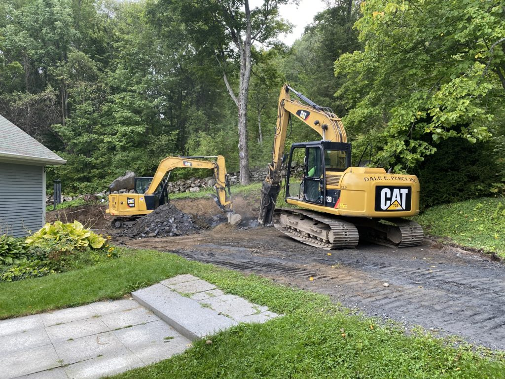 Residential Driveway Expansion (in progress)