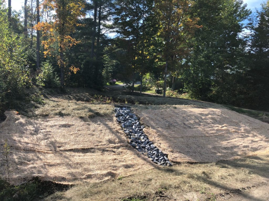 Stormwater Pond and Erosion Control