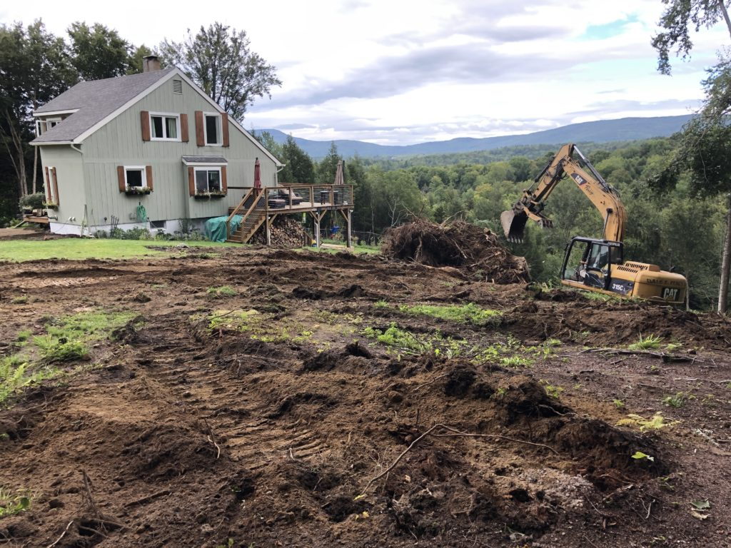 Stumping and Land Clearing (in progress)