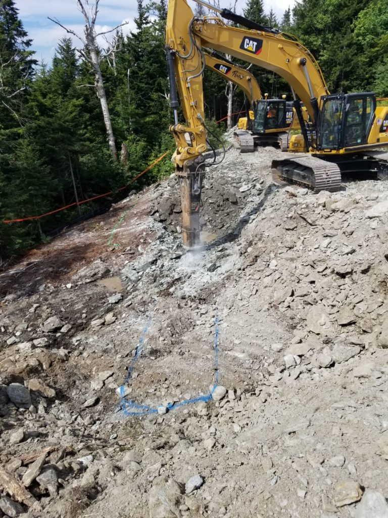 Subdivision, Land Clearing, Road Building (hammer)