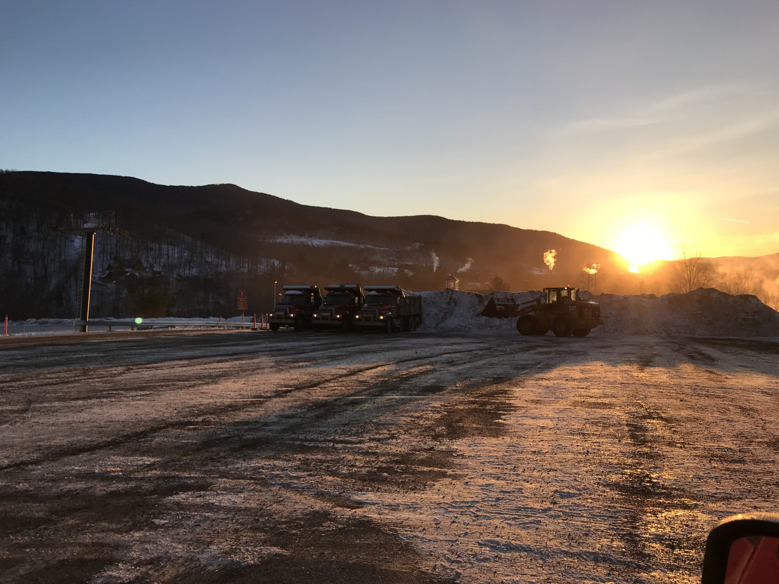Sunrise Snow Removal at Stowe Mountain Resort