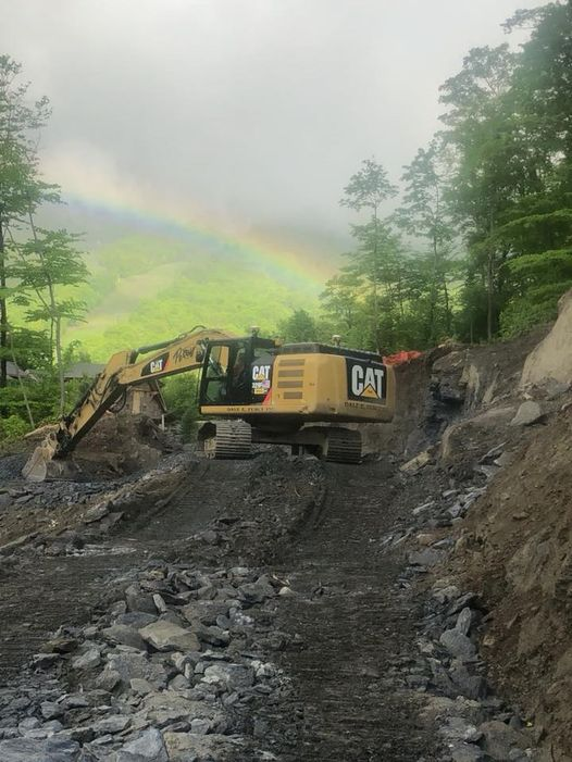Switchback Road Construction