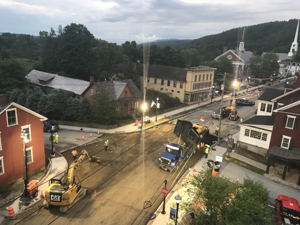 Town of Stowe Sidewalk Reconstruction